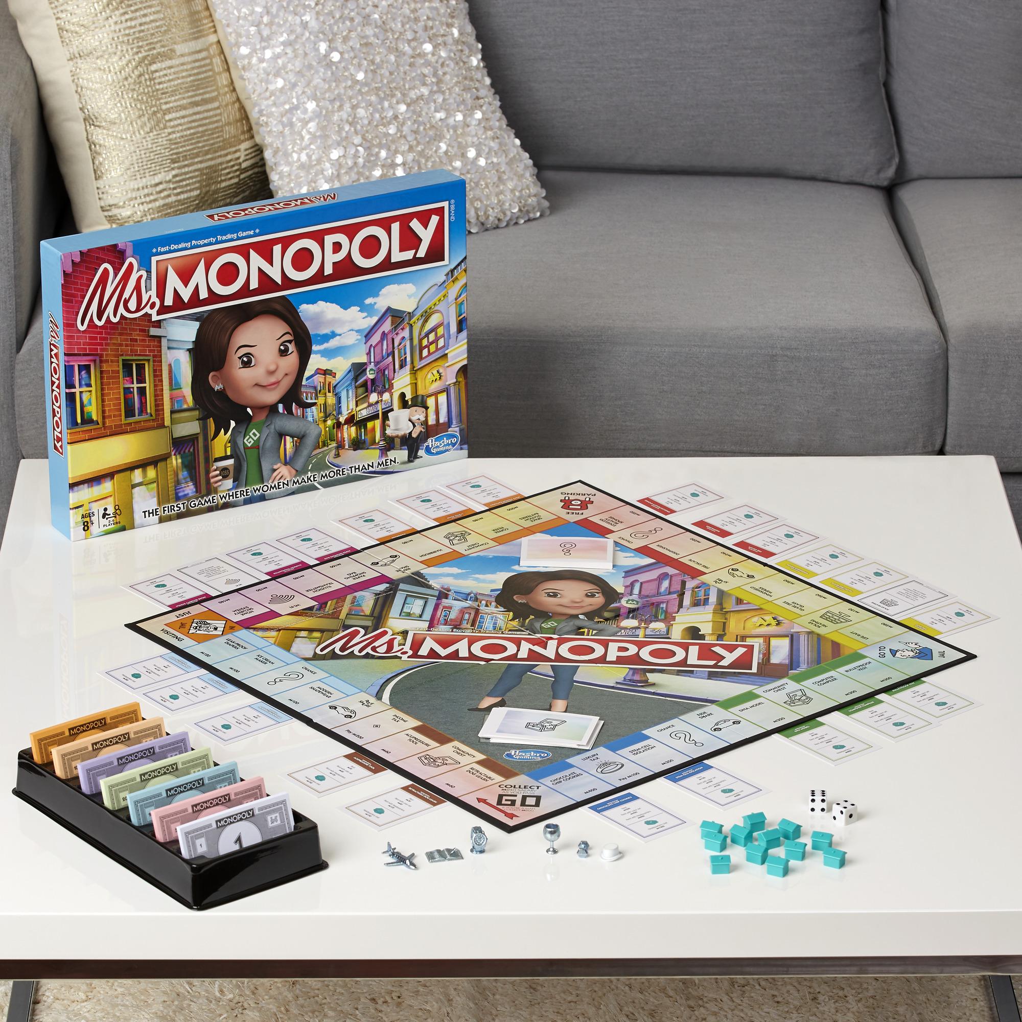 Ms. Monopoly okreće rodni jaz u plaćama u novoj verziji popularne društvene igre