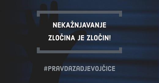 Hrvatska prosvjeduje se pod sloganom 'Pravda za djevojčice'