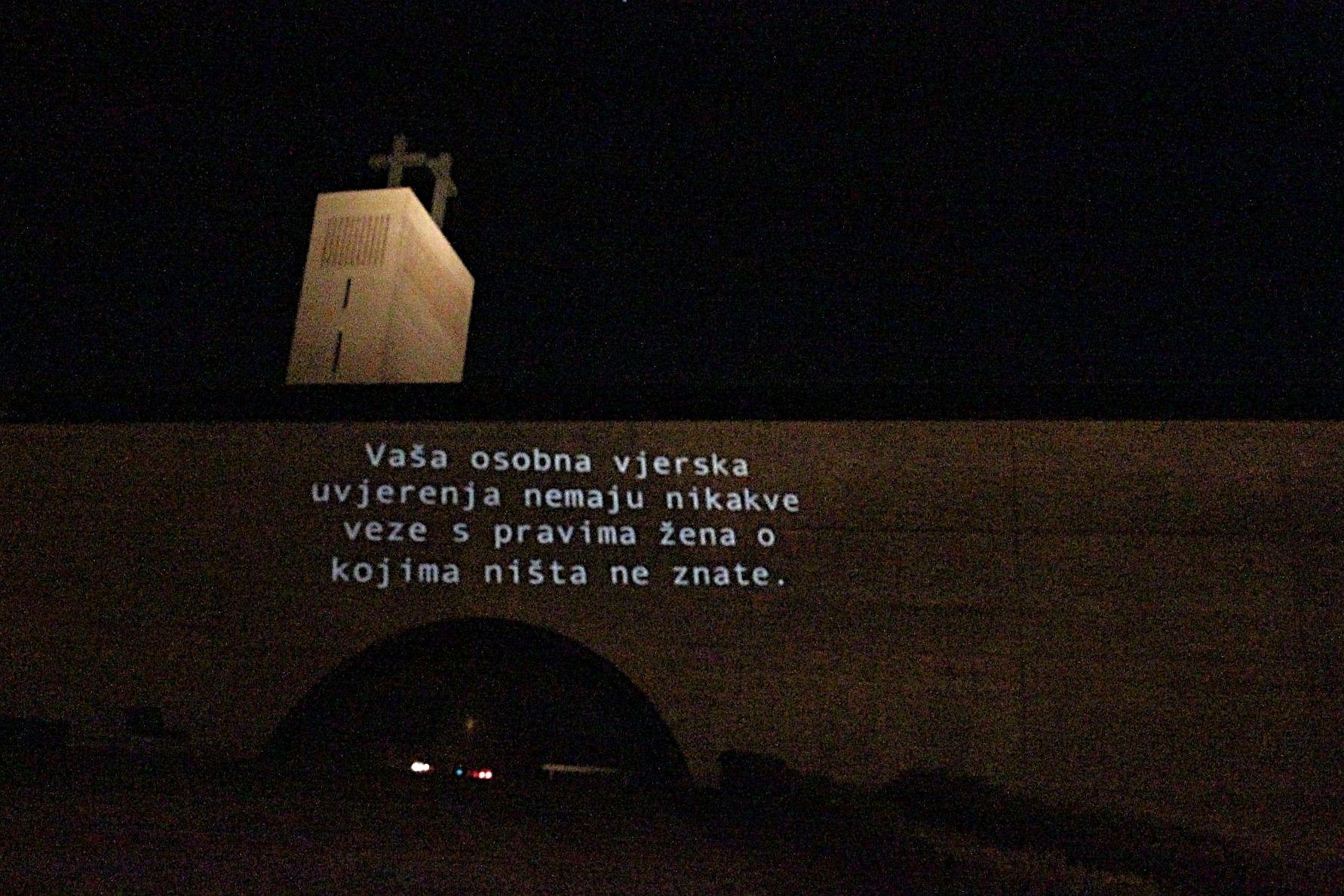 Slučaj Zadar: Stop propovijedima u sveučilišnoj dvorani