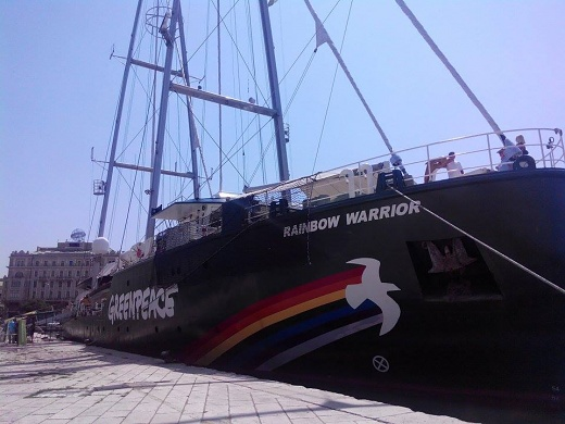 Greenpeaceov brod Rainbow Warrior III
