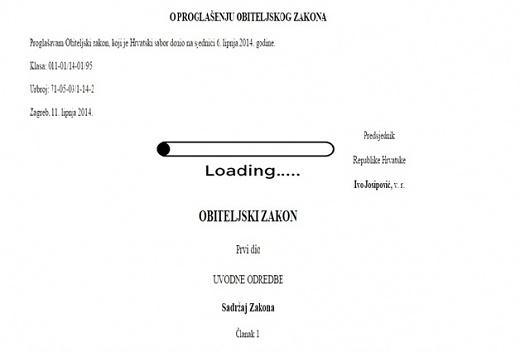 Obiteljski zakon loading...