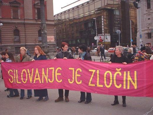 Prosvjed na ulicama Beograda