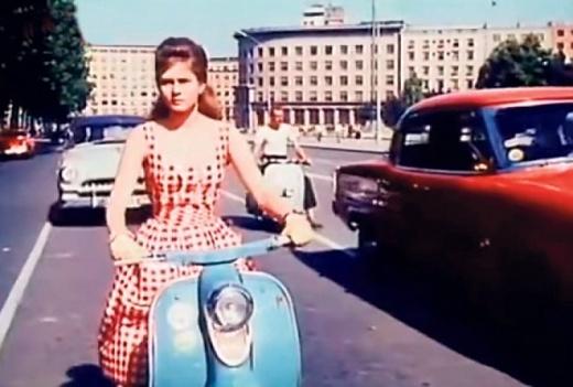 Studentica Sonja, Motorizovana šizika (Beba Lončar), Ljubav i moda, (r. Ljubomir Radičević, 1960.)