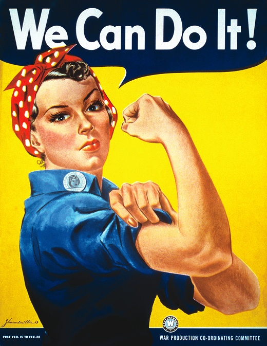'Rosie The Riveter' J. Howarda Millera